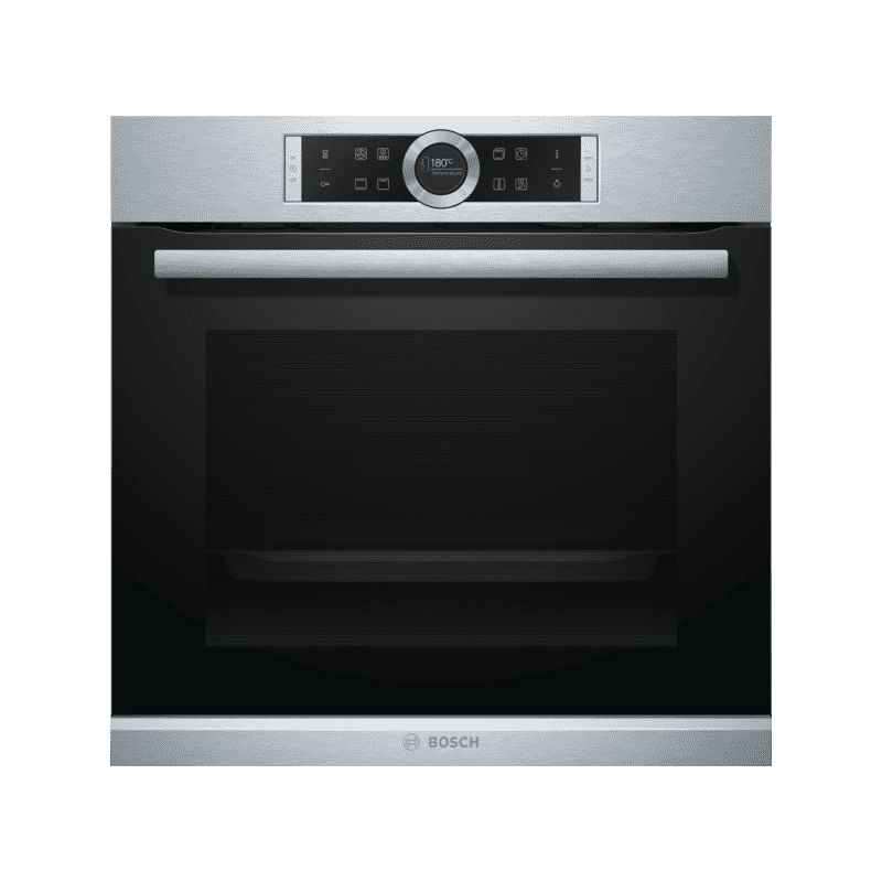 Bosch H595xW595xD548 Multifunction Oven - Brushed Steel primary image