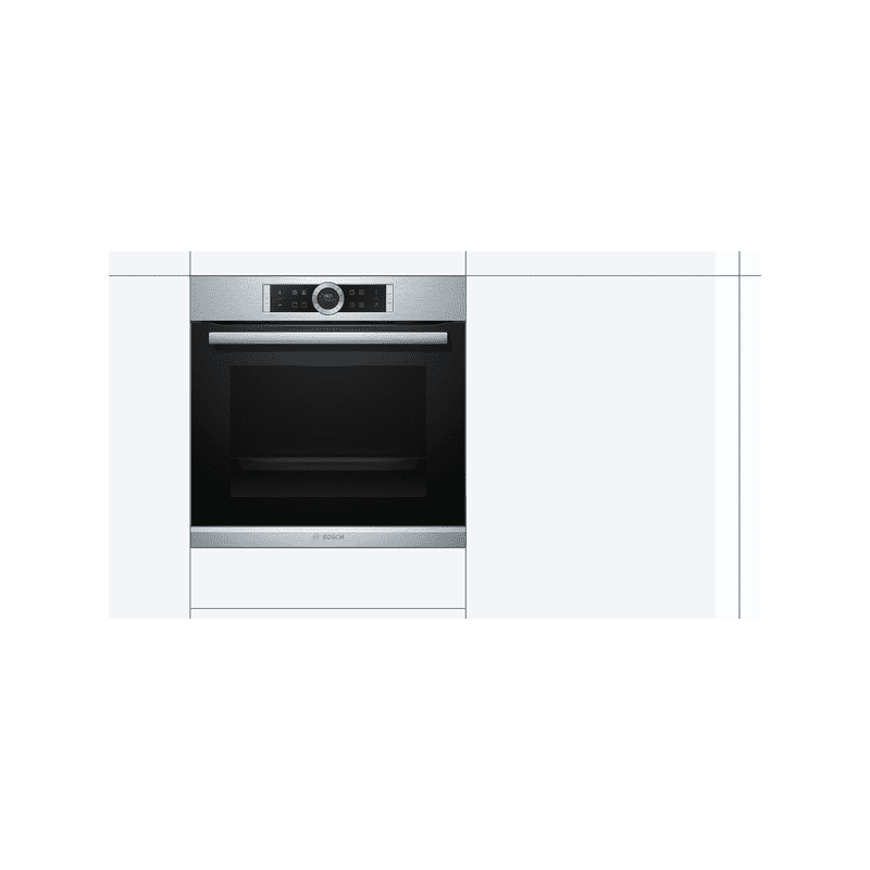 Bosch H595xW595xD548 Multifunction Oven - Brushed Steel additional image 4