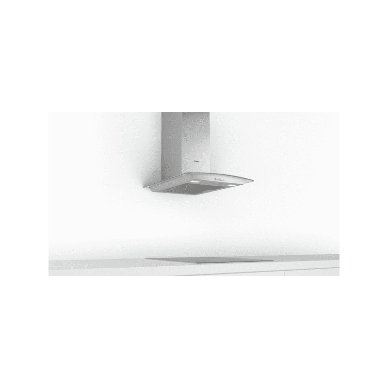 Bosch H617xW600xD488 Glass Chimney Hood additional image 1