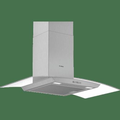 Bosch H617xW900xD488 Glass Chimney Hood