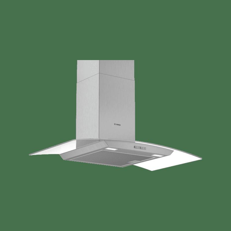 Bosch H617xW900xD488 Glass Chimney Hood primary image
