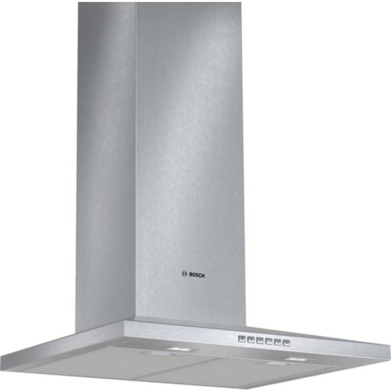 Bosch H672xW600xD500 Chimney Cooker Hood - Stainless Steel primary image