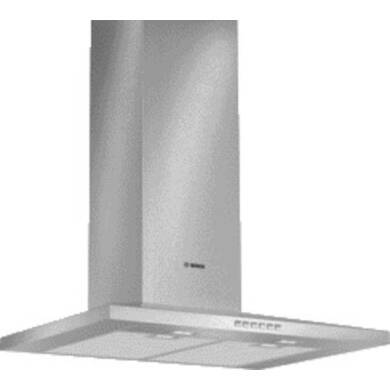 Bosch H672xW700xD500 Chimney Cooker Hood - Stainless Steel