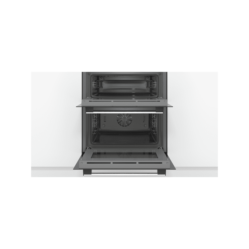 Bosch H717xW594xD550 Built-Under Double Oven - Stainless Steel additional image 1