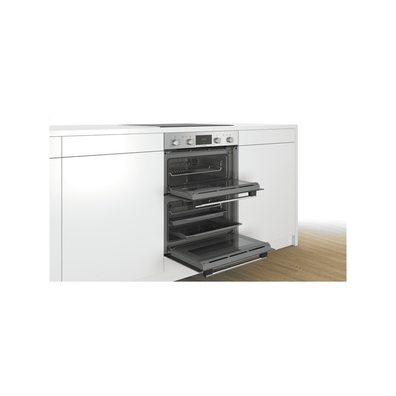 Bosch H717xW594xD550 Built-Under Double Oven - Stainless Steel additional image 2