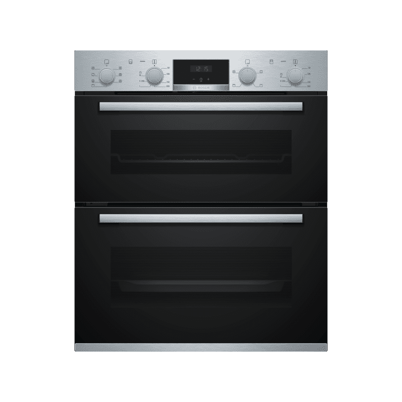 Bosch H717xW594xD550 Built-Under Double Oven - Stainless Steel primary image