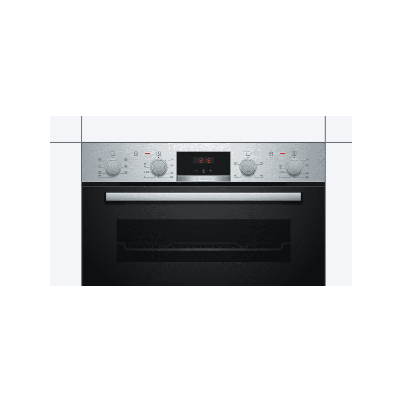 Bosch H717xW594xD550 Built-Under Double Oven - Stainless Steel additional image 3