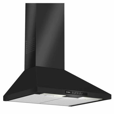 Bosch H799xW600xD500 Chimney Cooker Hood - Black