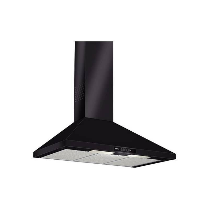 Bosch H799xW900xD500 Chimney Cooker Hood - Black primary image