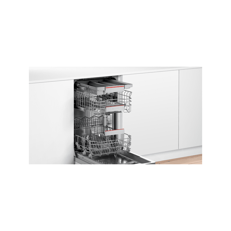 Bosch H815xW448xD550 Integrated Slimline Dishwasher with Home Connect additional image 1