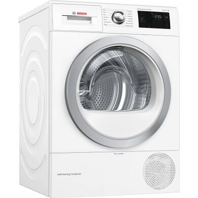 Bosch H842xW598xD597 Free Standing Condenser Dryer (9kg) with Home Connect