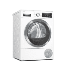 Bosch H842xW598xD599 Free Standing Condenser Dryer (9kg) with Home Connect