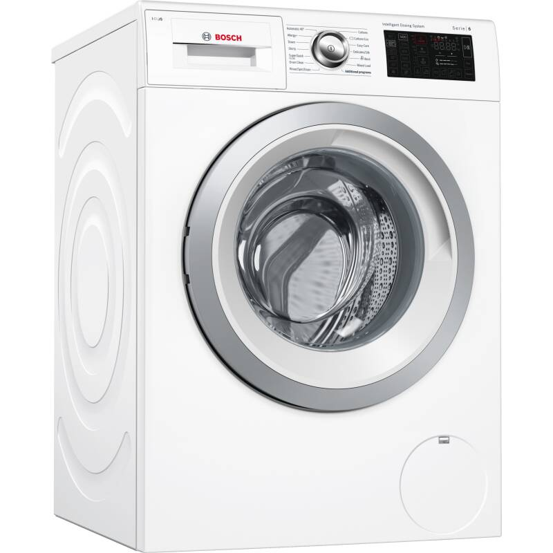 Bosch H848xW598xD590 Freestanding Washing Machine - Home Connect primary image