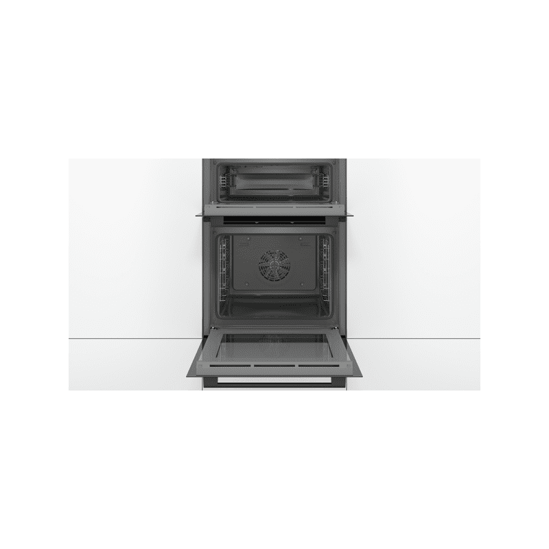 Bosch H888xW594xD550 Built-In Double Oven - Black additional image 1