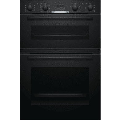 Bosch H888xW594xD550 Built-In Double Oven - Black