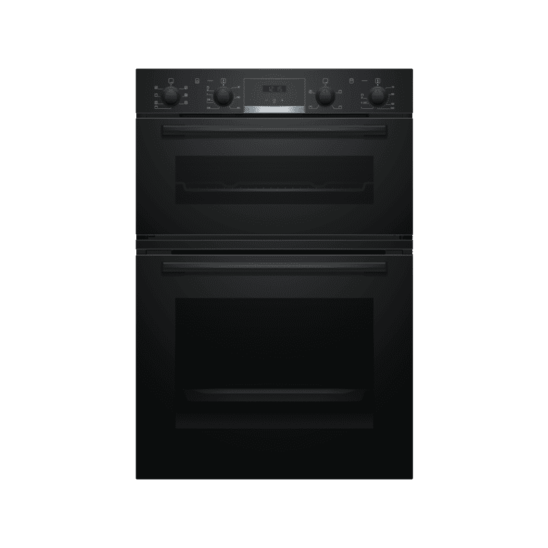 Bosch H888xW594xD550 Built-In Double Oven - Black primary image