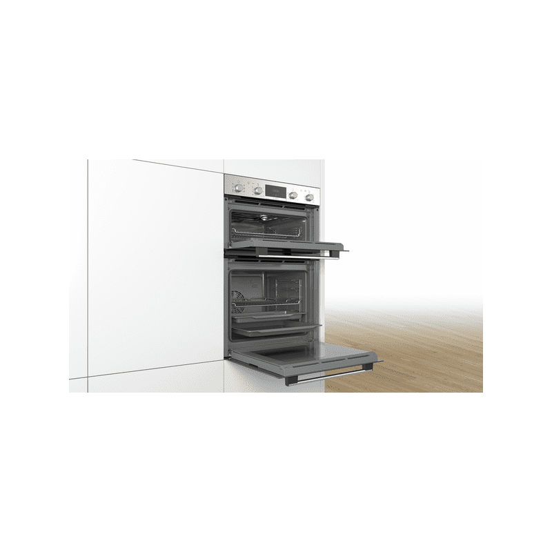 Bosch H888xW594xD550 Serie 4 Built-In Double Oven additional image 3