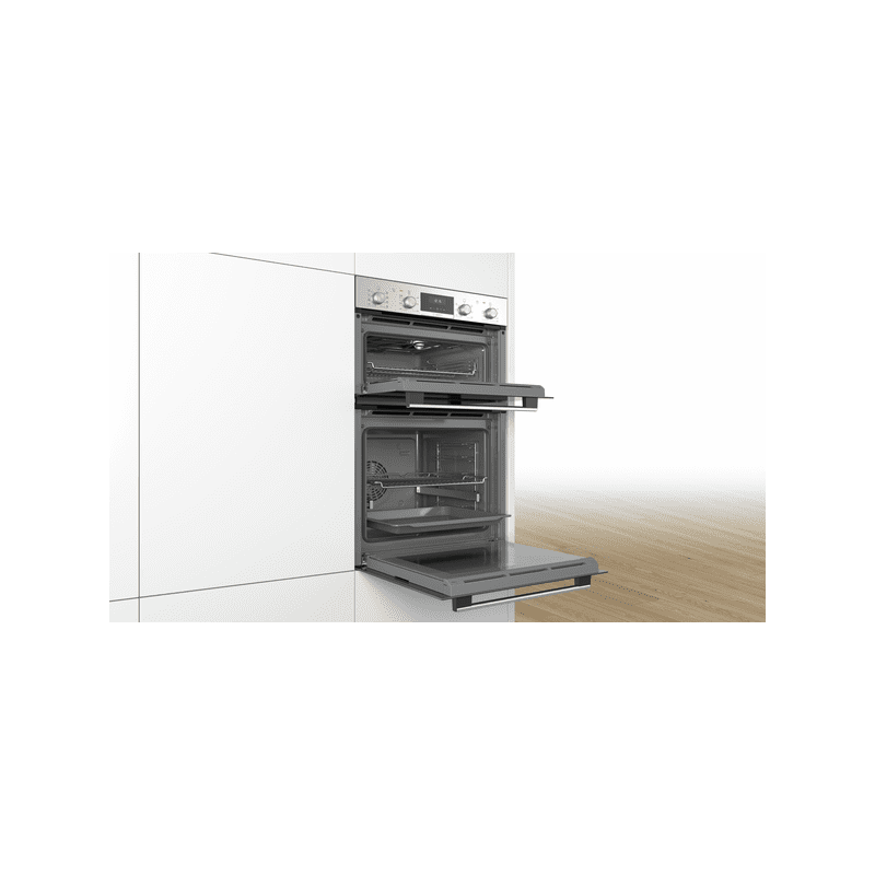 Bosch H888xW594xD550 Serie 6 Built-In Double Oven additional image 2