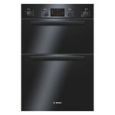 Bosch H888xW595xD550 Built-In Electric Double Multi-Function Oven - Black