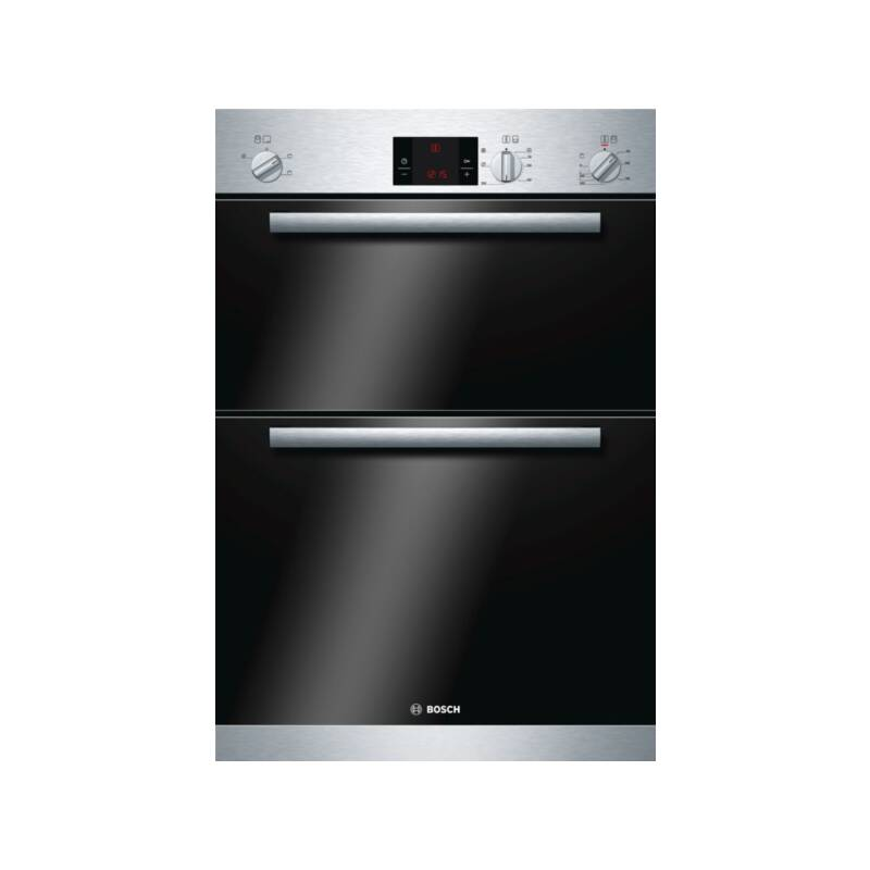 Bosch H888xW595xD550 Electric Built-In Double Oven - Stainless Steel primary image