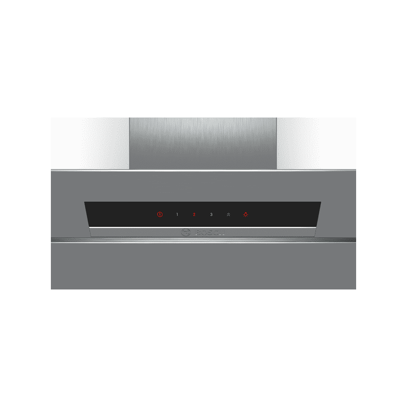 Bosch H898xW590xD467 Angled Glass Chimney Hood additional image 2