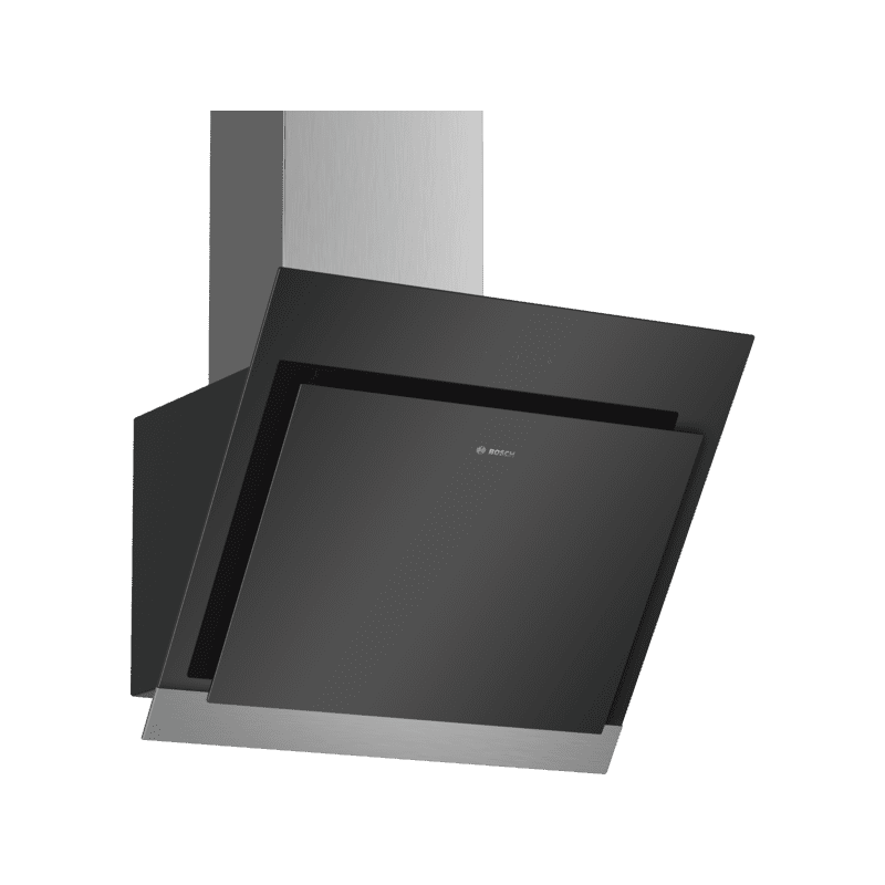 Bosch H929xW590xD499 Angled Glass Hood - Black primary image