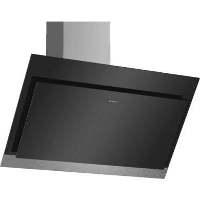 Bosch H929xW890xD499 Angled Glass Hood - Black