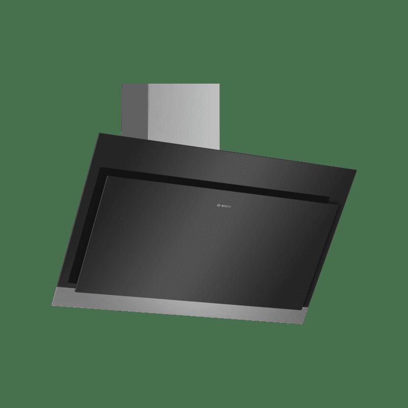 Bosch H929xW890xD499 Angled Glass Hood - Black primary image