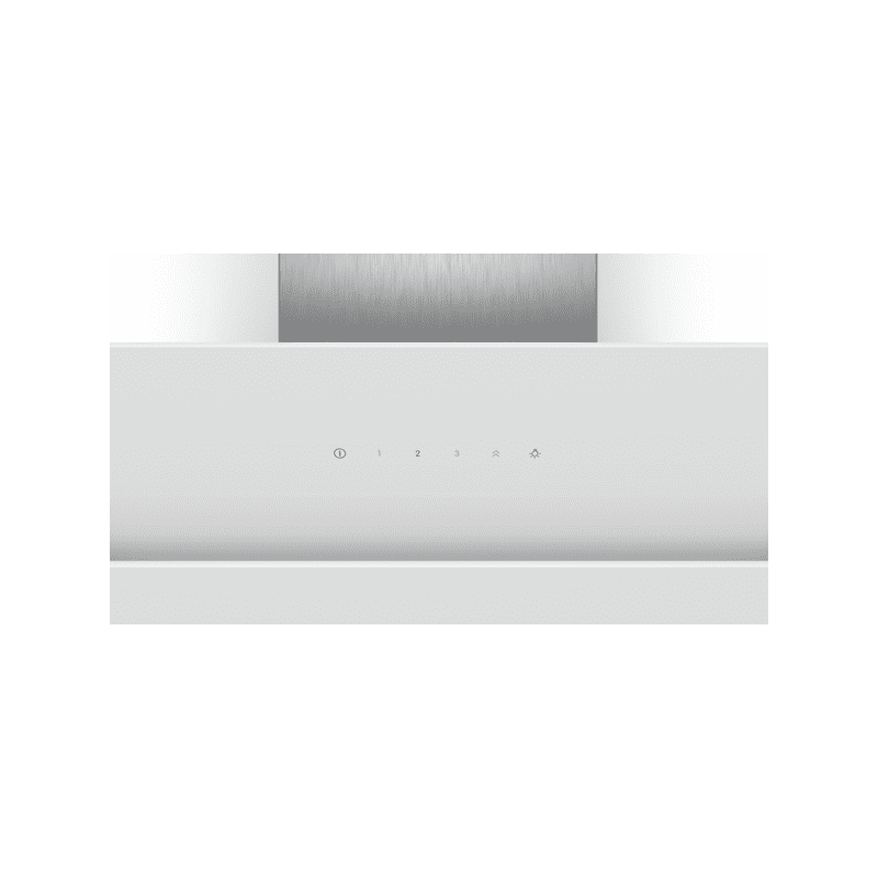 Bosch H929xW890xD499 Angled Glass Hood - White additional image 1