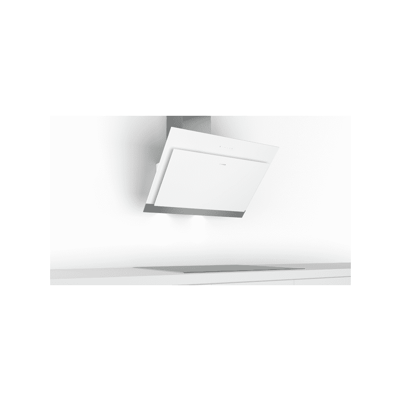 Bosch H929xW890xD499 Angled Glass Hood - White additional image 4