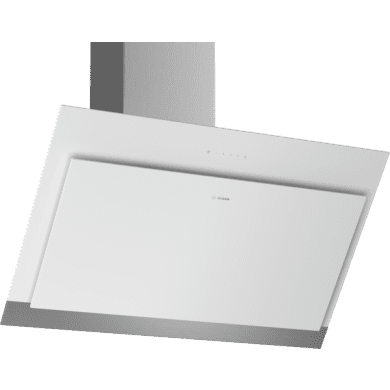Bosch H929xW890xD499 Angled Glass Hood - White