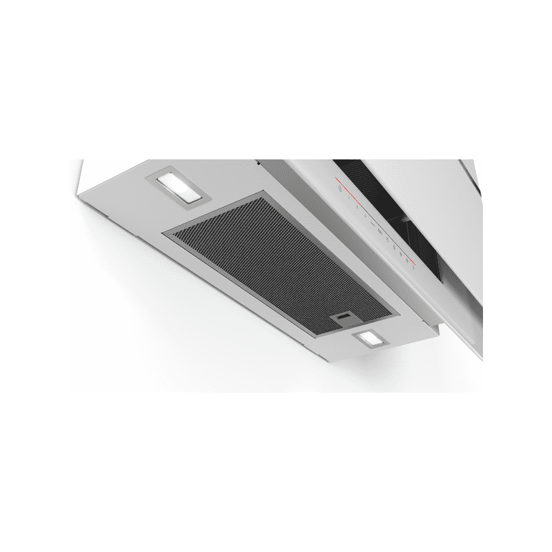 Bosch H969xW890xD263 Flat Glass Chimney Cooker Hood - White additional image 2