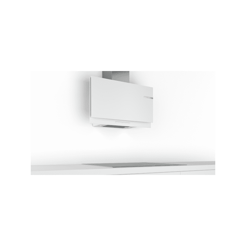 Bosch H969xW890xD263 Flat Glass Chimney Cooker Hood - White additional image 4