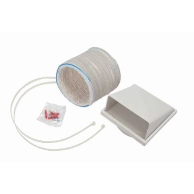 CDA 150mm x 1m Round Hose Ducting Kit