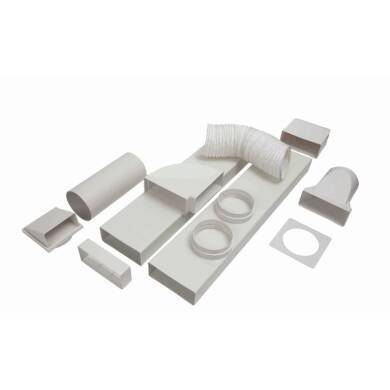 CDA 150mm x 3m Flat Channel Ducting Kit