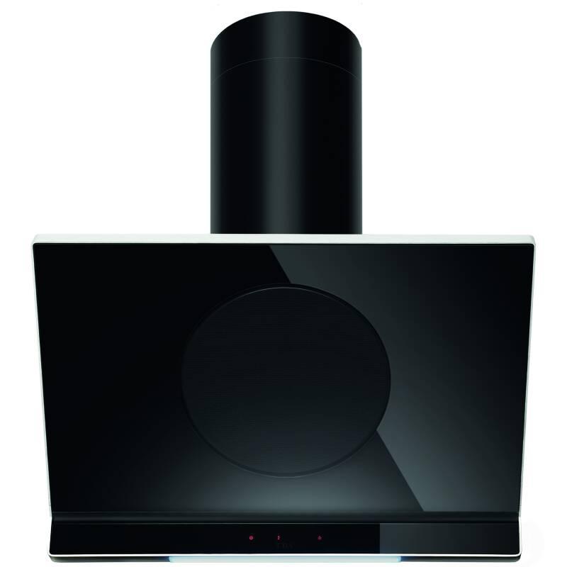 CDA H1080xW900xD455 Designer Angled Glass Hood - Black primary image
