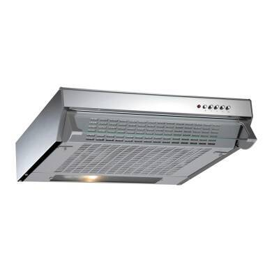 CDA H113xW600xD470 Conventional Integrated Cooker Hood - Stainless Steel