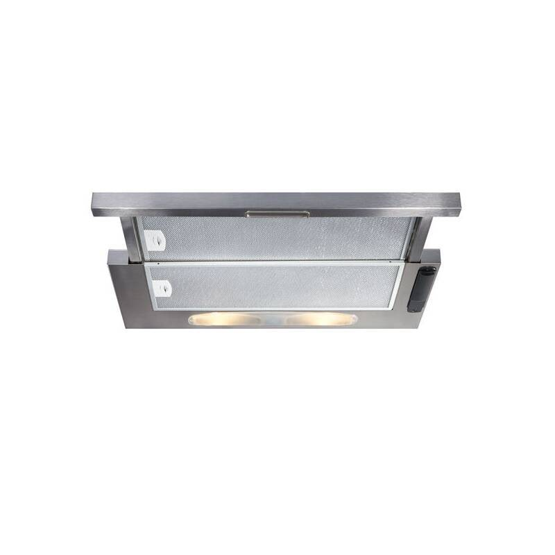 CDA H135xW600xD440 Telescopic Cooker Hood - Stainless Steel primary image