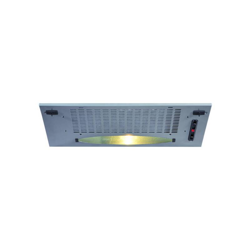 CDA H148xW525xD282 Canopy Hood - Silver primary image