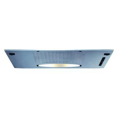 CDA H148xW760xD250 Canopy Hood - Silver