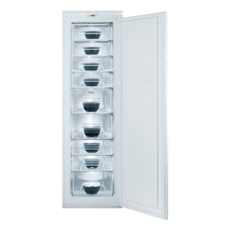 CDA H1683xW540xD545 Integrated Tower Freezer primary image