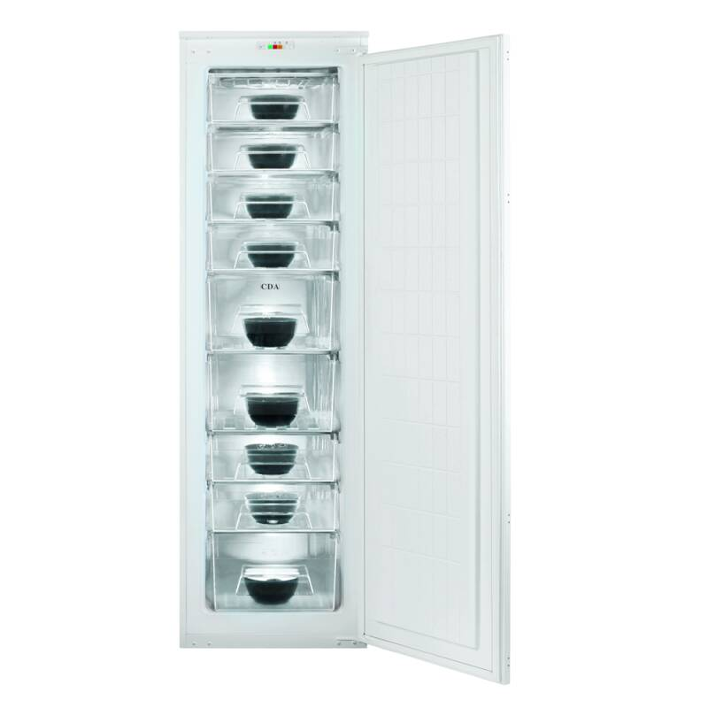 CDA H1683xW540xD545 Integrated Tower Freezer additional image 3