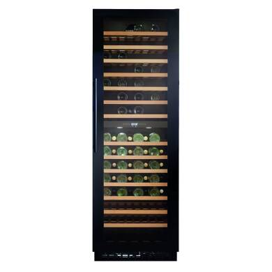 CDA H1768xW595xD615 Full Height Freestanding Wine Cooler - Black - FWC860BL