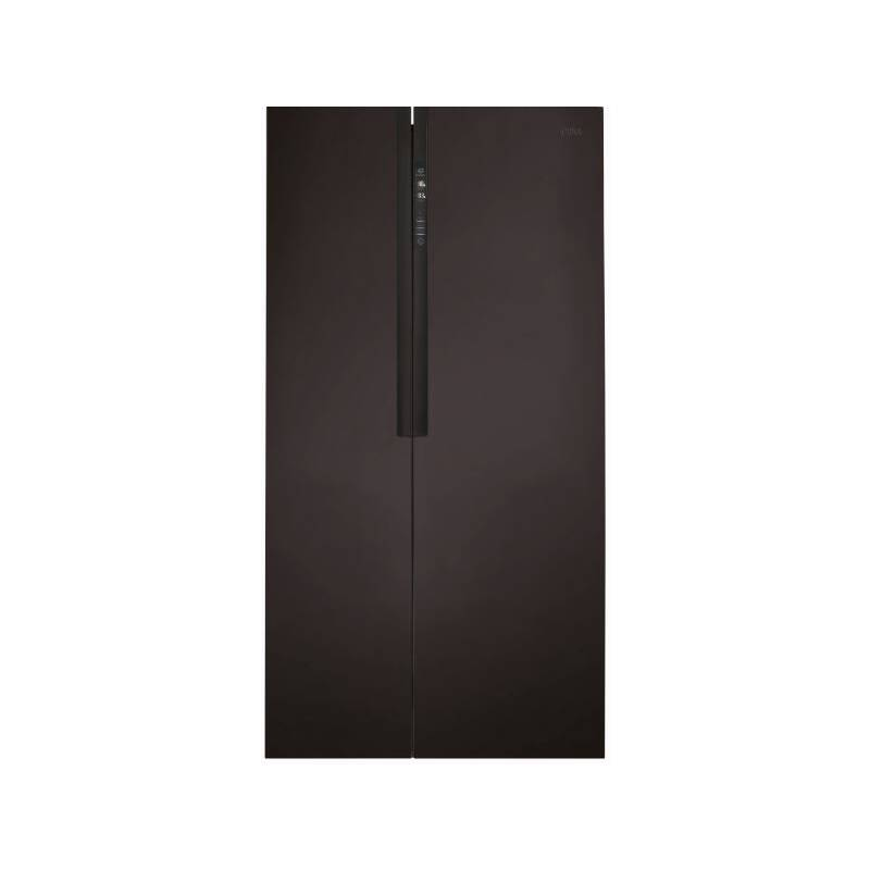 CDA H1805xW910xD660 American Style Side by Side Fridge Freezer - Black primary image