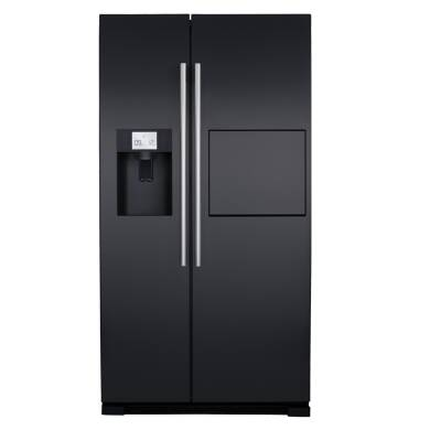 CDA H1820xW908xD690 Side by side American style fridge freezer