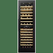 CDA H1850xW595xD580 Full Height Freestanding Wine Cooler - Black