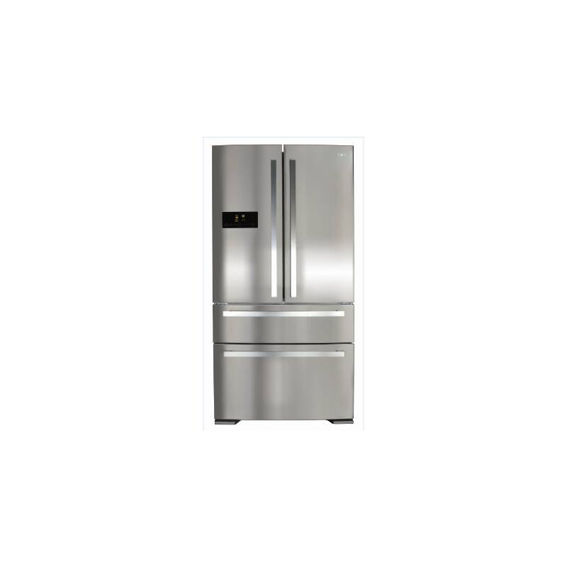 CDA H1850xW910xD760 Two Door Fridge With Two Drawer Freezer - Stainless Steel primary image