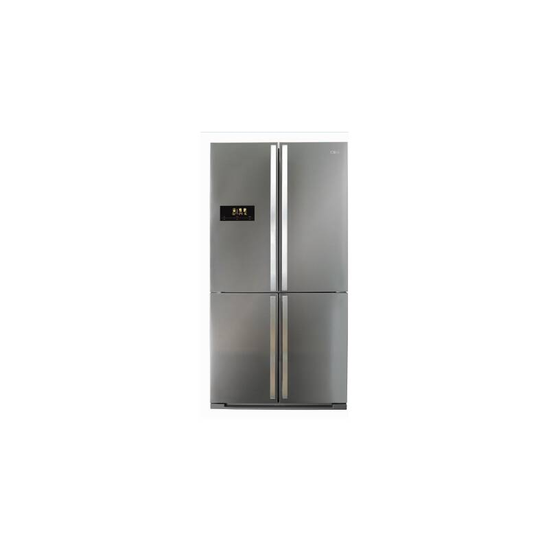 CDA H1850xW910xD765 Premium Four Door Fridge Freezer - Stainless Steel primary image
