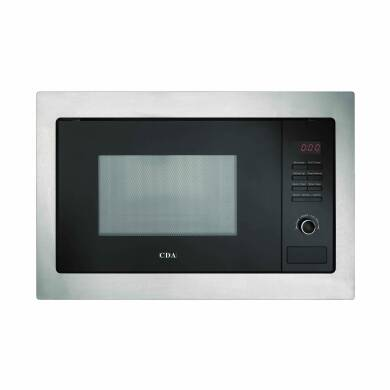 CDA H388xW594xD410 Compact Combi-Microwave - Stainless Steel