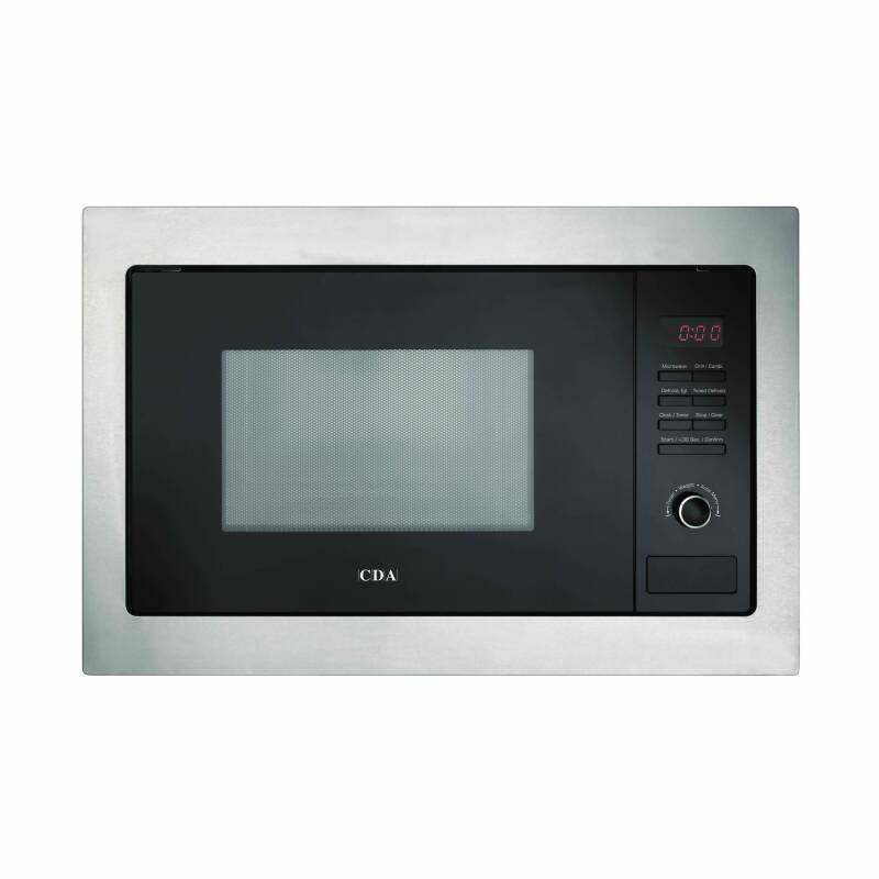 CDA H388xW594xD410 Compact Combi-Microwave - Stainless Steel primary image